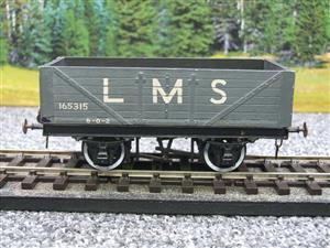 O Gauge Kit Scratch Built LMS Open coal Wagon R/N 165315 image 5