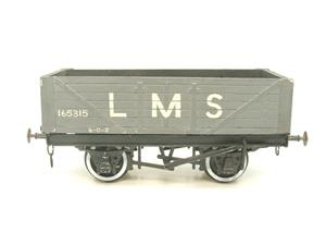 O Gauge Kit Scratch Built LMS Open coal Wagon R/N 165315 image 9