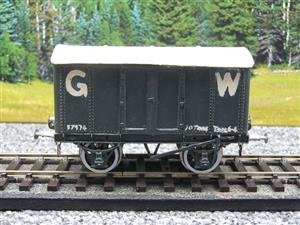 Kit-Scratch Built O Gauge Solid Metal GW Goods Van R/N 37974 image 1