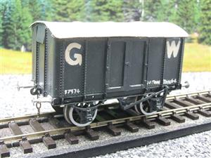 Kit-Scratch Built O Gauge Solid Metal GW Goods Van R/N 37974 image 10