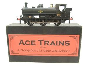 Ace Trains O Gauge E21E BR Post 56 Black 57xx Pannier Tank Loco R/N 5775 Electric Boxed image 1