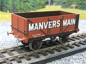 "Peco O Gauge Kit Built ""Manvers Main"" Open Wagon Fine Scale image 10"