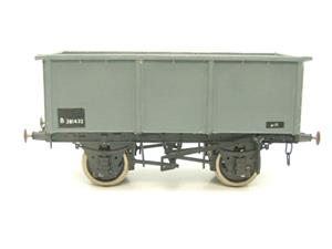 "Peco O Gauge Kit Built Grey ""Iron Ore Tippler"" Coal Wagon R/N B381432 image 1"