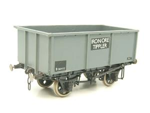 "Peco O Gauge Kit Built Grey ""Iron Ore Tippler"" Coal Wagon R/N B381432 image 4"