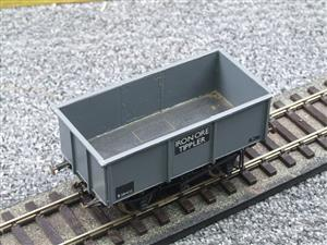"Peco O Gauge Kit Built Grey ""Iron Ore Tippler"" Coal Wagon R/N B381432 image 7"