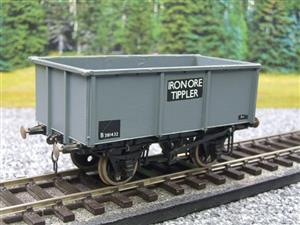 "Peco O Gauge Kit Built Grey ""Iron Ore Tippler"" Coal Wagon R/N B381432 image 10"