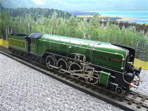 "Hehr O Gauge L70-12920 LNER ""2001"" Cock O The North"" 2-8-2 Loco & Tender Electric 20v 3 Rail image 7"