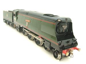 "Ace Trains O Gauge E9 Bulleid Pacific BR ""Padstow"" R/N 34008 Electric 2/3 Rail Bxd image 2"