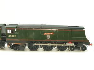 "Ace Trains O Gauge E9 Bulleid Pacific BR ""Padstow"" R/N 34008 Electric 2/3 Rail Bxd image 4"