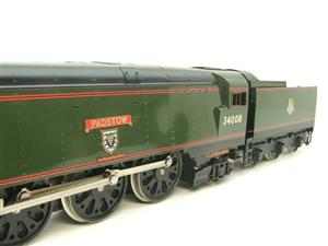 "Ace Trains O Gauge E9 Bulleid Pacific BR ""Padstow"" R/N 34008 Electric 2/3 Rail Bxd image 8"