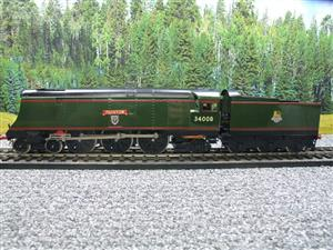 "Ace Trains O Gauge E9 Bulleid Pacific BR ""Padstow"" R/N 34008 Electric 2/3 Rail Bxd image 9"