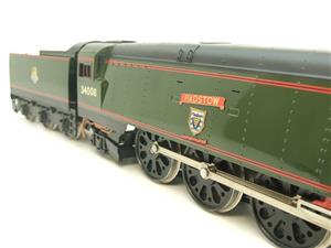 "Ace Trains O Gauge E9 Bulleid Pacific BR ""Padstow"" R/N 34008 Electric 2/3 Rail Bxd image 10"
