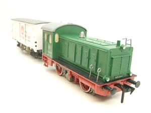 Pola Maxi/Lima/Rivarossi O Gauge DB Diesel Shunter Loco & Beer Wagon Electric 3 Rail Boxed image 2