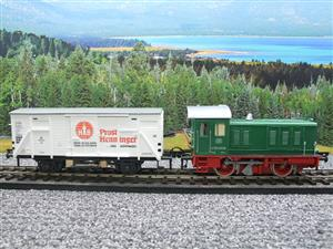 Pola Maxi/Lima/Rivarossi O Gauge DB Diesel Shunter Loco & Beer Wagon Electric 3 Rail Boxed image 5