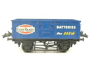 "Lima-Hornby O Gauge PO ""Ever Ready Batteries"" Open Wagon image 1"