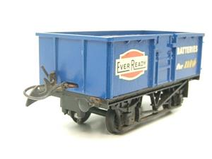 "Lima-Hornby O Gauge PO ""Ever Ready Batteries"" Open Wagon image 2"