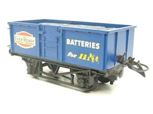 "Lima-Hornby O Gauge PO ""Ever Ready Batteries"" Open Wagon image 3"