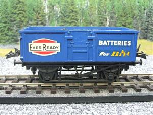 "Lima-Hornby O Gauge PO ""Ever Ready Batteries"" Open Wagon image 5"