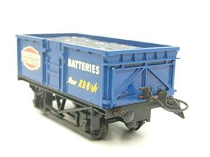 "Lima-Hornby O Gauge PO ""Ever Ready Batteries"" Open Wagon image 6"
