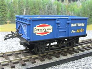 "Lima-Hornby O Gauge PO ""Ever Ready Batteries"" Open Wagon image 10"