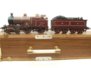 "Gauge 1 Live Steam Brass MR ""Johnson Belpaire"" 4-4-0 Loco & Tender R/N 2633 image 1"