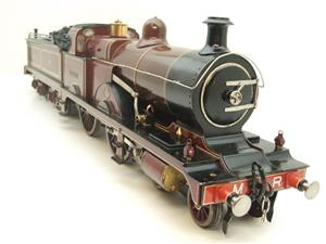 "Gauge 1 Live Steam Brass MR ""Johnson Belpaire"" 4-4-0 Loco & Tender R/N 2633 image 2"