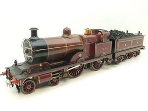 "Gauge 1 Live Steam Brass MR ""Johnson Belpaire"" 4-4-0 Loco & Tender R/N 2633 image 3"