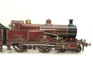 "Gauge 1 Live Steam Brass MR ""Johnson Belpaire"" 4-4-0 Loco & Tender R/N 2633 image 4"