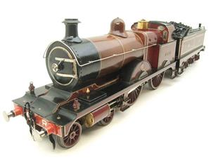 "Gauge 1 Live Steam Brass MR ""Johnson Belpaire"" 4-4-0 Loco & Tender R/N 2633 image 6"