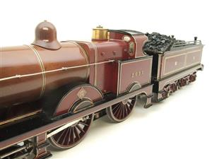 "Gauge 1 Live Steam Brass MR ""Johnson Belpaire"" 4-4-0 Loco & Tender R/N 2633 image 8"