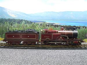 "Gauge 1 Live Steam Brass MR ""Johnson Belpaire"" 4-4-0 Loco & Tender R/N 2633 image 9"
