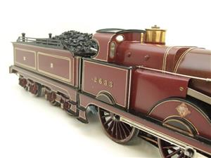 "Gauge 1 Live Steam Brass MR ""Johnson Belpaire"" 4-4-0 Loco & Tender R/N 2633 image 10"