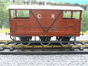 Gauge 1 CR Six Wheel Double Ended Brake Van image 5