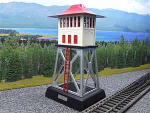 Lionel Corporation MTH 10-1049 No.438 O/Standard Gauge Electric Signal Tower Accessory Late Colours image 2