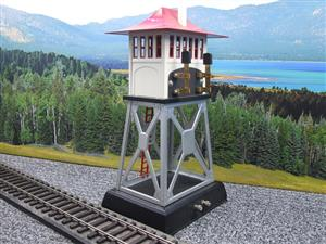 Lionel Corporation MTH 10-1049 No.438 O/Standard Gauge Electric Signal Tower Accessory Late Colours image 4