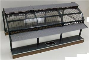 "Ace Trains O Gauge Fully Made up ""Station Canopy"" AC1 & AC 1A Extensions image 3"