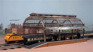 "Ace Trains O Gauge Fully Made up ""Station Canopy"" AC1 & AC 1A Extensions image 7"