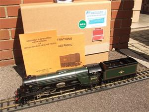 "Gauge 1 Aster BR Green A3 Class Pacific ""Flying Scotsman"" R/N 60103 Live Steam MINT Boxed image 1"