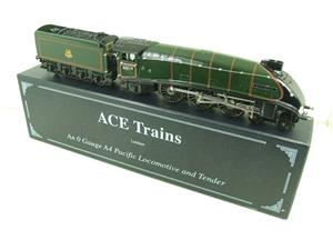 "Ace Trains O Gauge E4 A4 Pacific BR Green ""Bittern"" R/N 60019 Electric 3 Rail Boxed image 2"