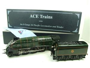 "Ace Trains O Gauge E4 A4 Pacific BR Green ""Bittern"" R/N 60019 Electric 3 Rail Boxed image 3"