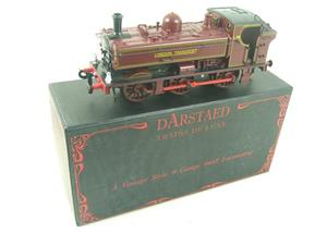 "Darstaed O Gauge ""London Transport"" Pannier Tank Loco L.98 Electric 3 Rail Boxed image 2"