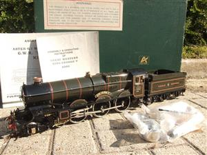 "Gauge 1 Aster GWR King Class ""King George V"" R/N 6000 Live Steam F/Built As New Boxed image 1"