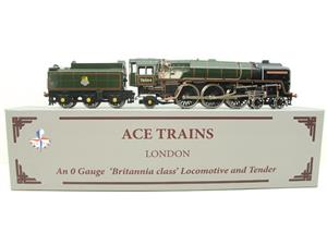 "Ace Trains O Gauge E27D BR Green Britannia Class ""William Shakespeare"" FOB Edition"" R/N 70004 Bxd image 1"