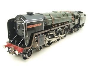"Ace Trains O Gauge E27D BR Green Britannia Class ""William Shakespeare"" FOB Edition"" R/N 70004 Bxd image 2"