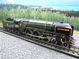 "Ace Trains O Gauge E27D BR Green Britannia Class ""William Shakespeare"" FOB Edition"" R/N 70004 Bxd image 3"