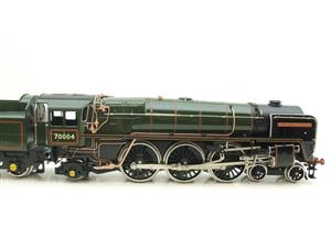 "Ace Trains O Gauge E27D BR Green Britannia Class ""William Shakespeare"" FOB Edition"" R/N 70004 Bxd image 4"