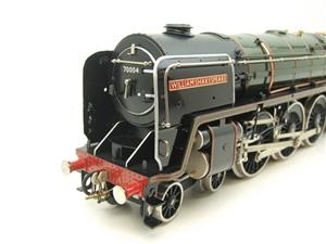 "Ace Trains O Gauge E27D BR Green Britannia Class ""William Shakespeare"" FOB Edition"" R/N 70004 Bxd image 10"