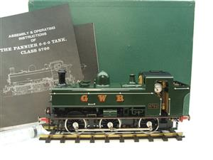 Gauge 1 Aster GWR Green Class 5700 Pannier Tank Loco R/N 6752 Insulated Wheels Ed Live Steam image 1