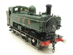 Gauge 1 Aster GWR Green Class 5700 Pannier Tank Loco R/N 6752 Insulated Wheels Ed Live Steam image 2