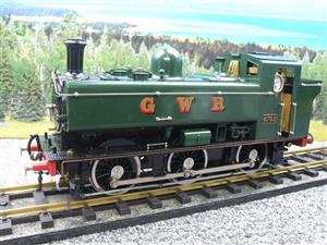 Gauge 1 Aster GWR Green Class 5700 Pannier Tank Loco R/N 6752 Insulated Wheels Ed Live Steam image 3